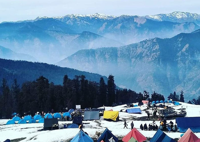 Camping at Kedarkantha Base Camp