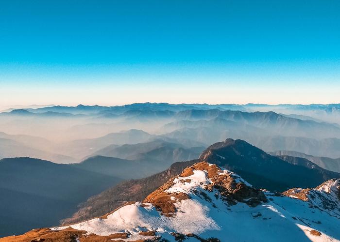 View from Phulara Ridge Trek