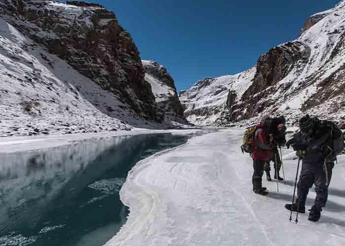 Chandra Trek Frozen River 9