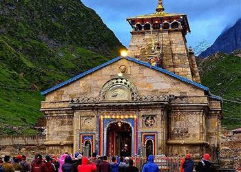 kedarnath temple front view
