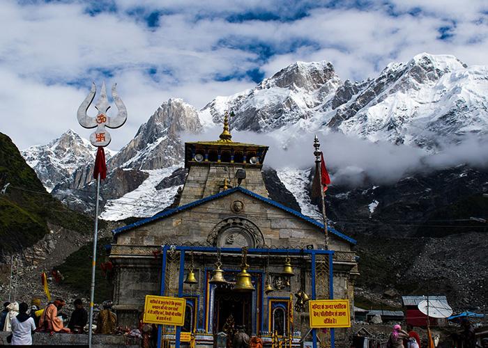 Kedarnath temple yatra in winters