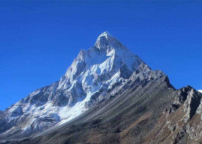 View of Mount Shivling
